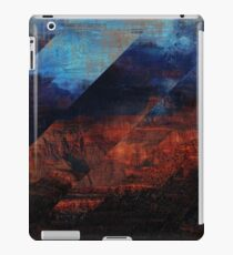 Deconstructing Time Altered Landscapes Grand Canyon iPad Case/Skin