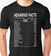 Aquarius Facts Unisex T-Shirt