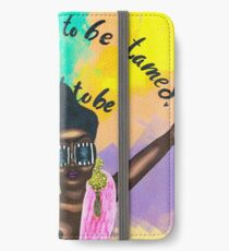 LEAVE ME WILD iPhone Wallet/Case/Skin