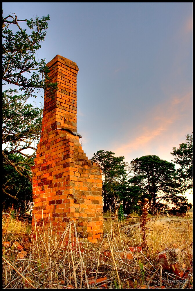 Old chimney. by trevorb