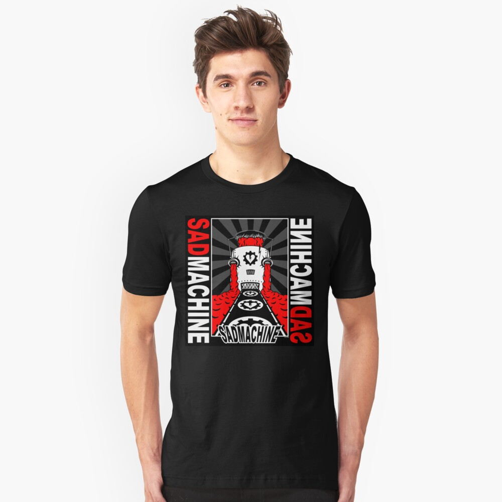 misery loves machinery Unisex T-Shirt Front