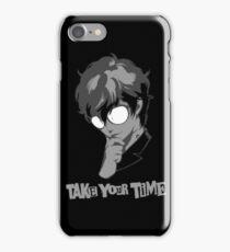 Persona 5: Kurusu Akira- Joker iPhone Case/Skin