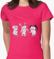 On the Playground Womens Fitted T-Shirt