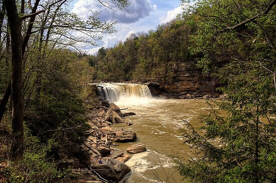 Cumberland Falls HDR by Bill Wetmore