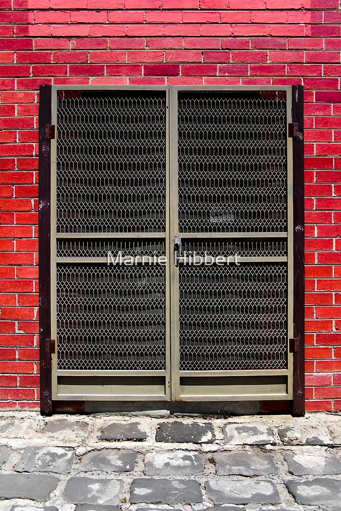 Door to where? by Marnie Hibbert