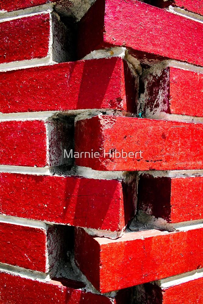 Red Bricks by Marnie Hibbert
