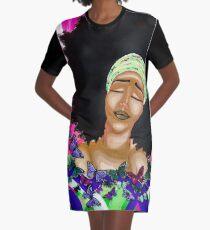 BALINDA Graphic T-Shirt Dress