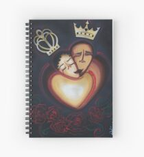 LOVERS EMBRACE Spiral Notebook