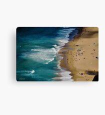 AUSTRALIAN BEACH SUMMER Canvas Print