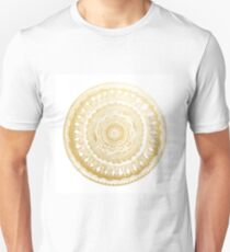 Golden Mandala Unisex T-Shirt