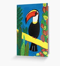 Brazilian Toucan Greeting Card