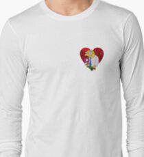 A very Moleman Valentine's Long Sleeve T-Shirt