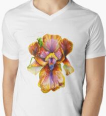 Lord Of The Iris Kingdom Men's V-Neck T-Shirt