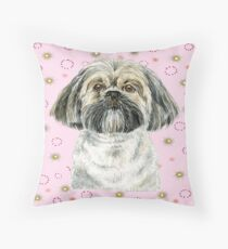 Lhasa Apso to Adore Throw Pillow