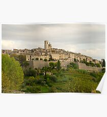 France. Saint Paul de Vence Poster