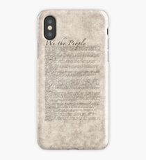 US Constitution - United States Bill of Rights iPhone Case/Skin