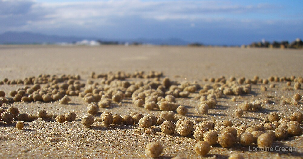 Sand Pebbles by Lorraine Creagh
