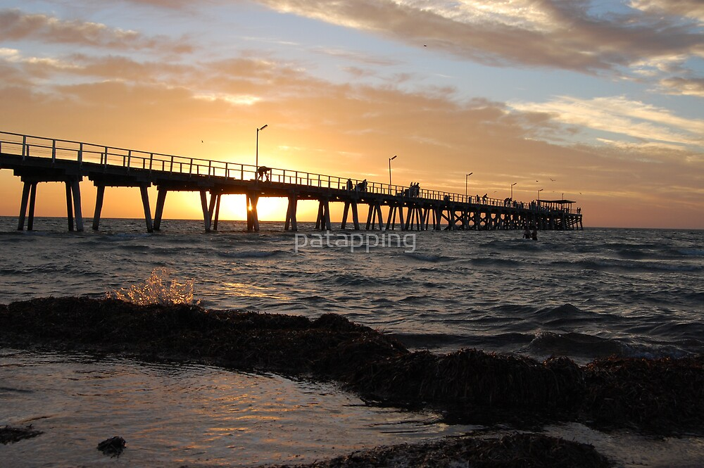 Largs Bay Sunset. Sth. Aust. by patapping