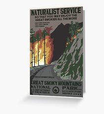 National Parks 2050: Great Smoky Greeting Card
