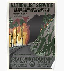 National Parks 2050: Great Smoky Poster