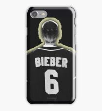 Bieber 6 (scratch) iPhone Case/Skin