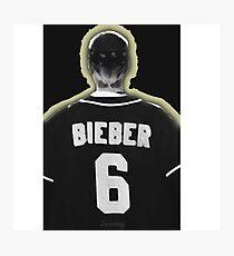 Bieber 6 (scratch) Photographic Print