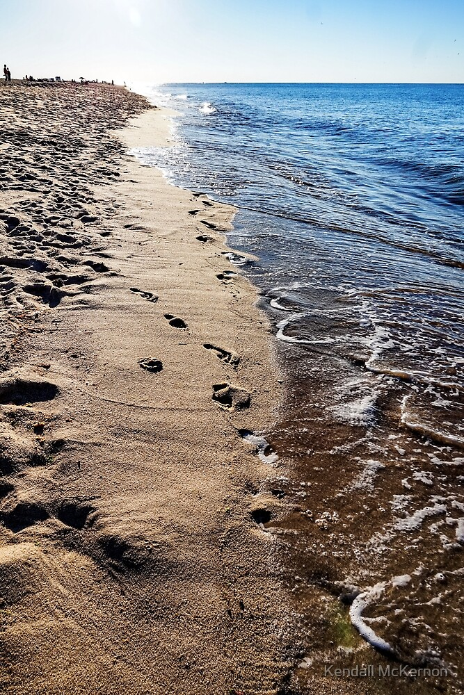 Sand in my shoes by Kendall McKernon