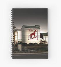 Dingo Flour Mill - Fremantle Western Australia  Spiral Notebook