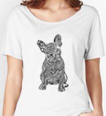 Polynesian French Bulldog Women's Relaxed Fit T-Shirt