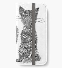 Sitting Kitty iPhone Wallet/Case/Skin