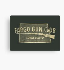Fargo Gun Club Canvas Print