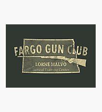 Fargo Gun Club Photographic Print