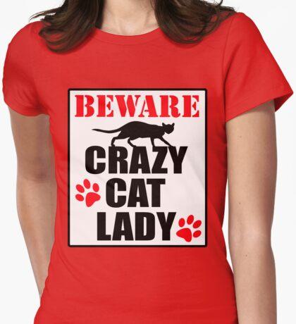 Crazy Cat Lady Sign #2 T-Shirt