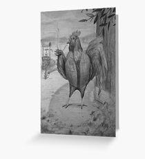 Sir Roost Greeting Card