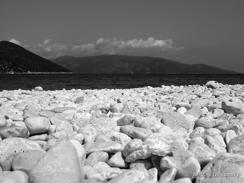 Kefalonia Pebble Beach by Andrew Dunwoody