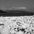 Kefalonia Pebble Beach by Andrew Dunwoody