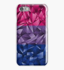 Abstract Bisexual Flag iPhone Case/Skin