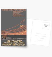 National Parks 2050: Yellowstone Postcards
