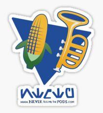 Ace Pilot Corn Horn! Sticker
