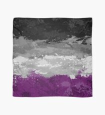 Asexual Paint Splatter Flag Scarf