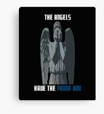 The Angels Have The Phone Box! Canvas Print