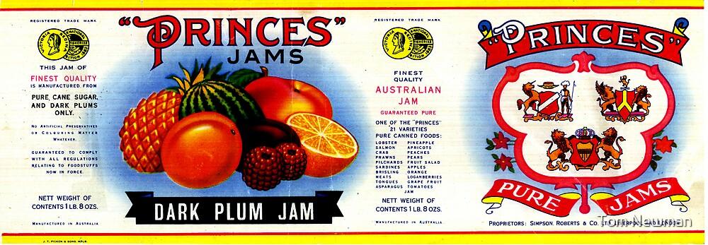 AJC Label: Princes Jams by Tom Newman