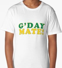 G'day Mate! Long T-Shirt