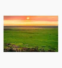 Sunset from Ubirr Rock, NT, Australia. Photographic Print