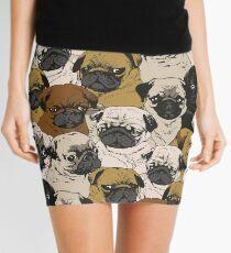 Minifalda Pugs sociales