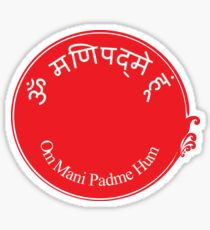 Mantra of Compassion Sticker