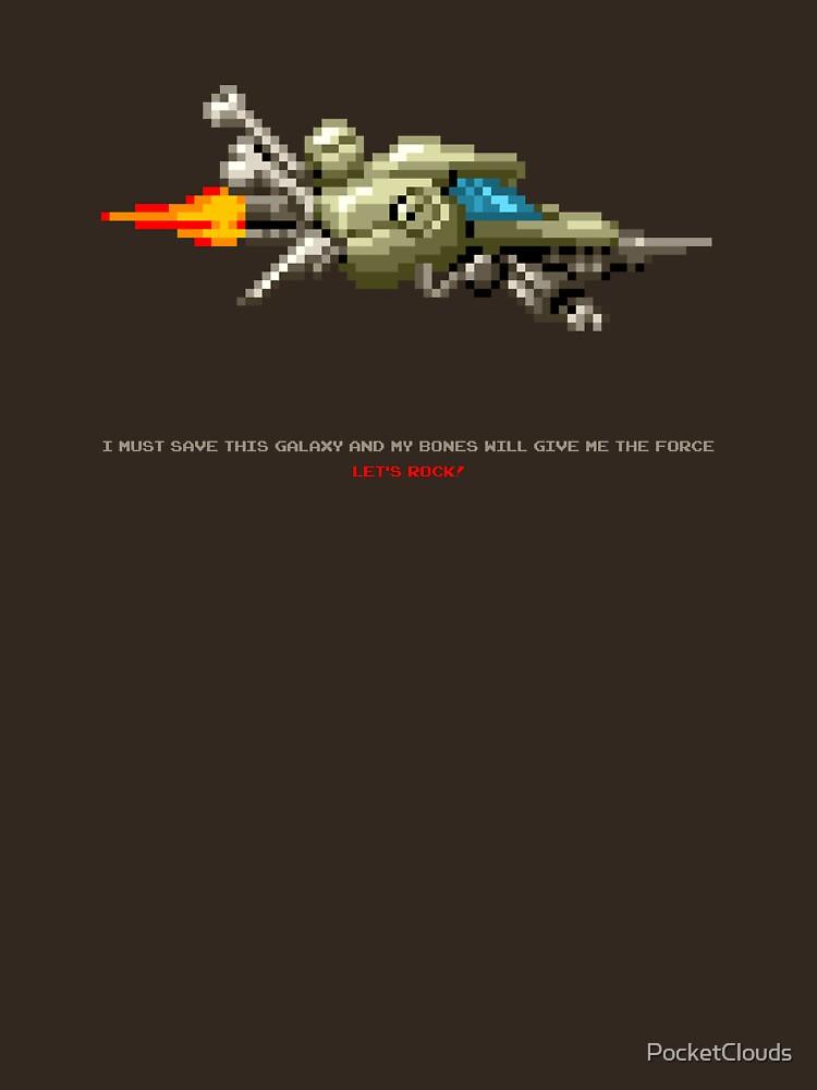 Spaceship for Galactic Headbone! by PocketClouds