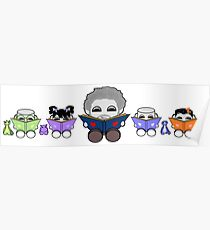 Reading is a Family Affair: Grandpa Yo and O'BABYBOT Toy Robots 1.0 Poster