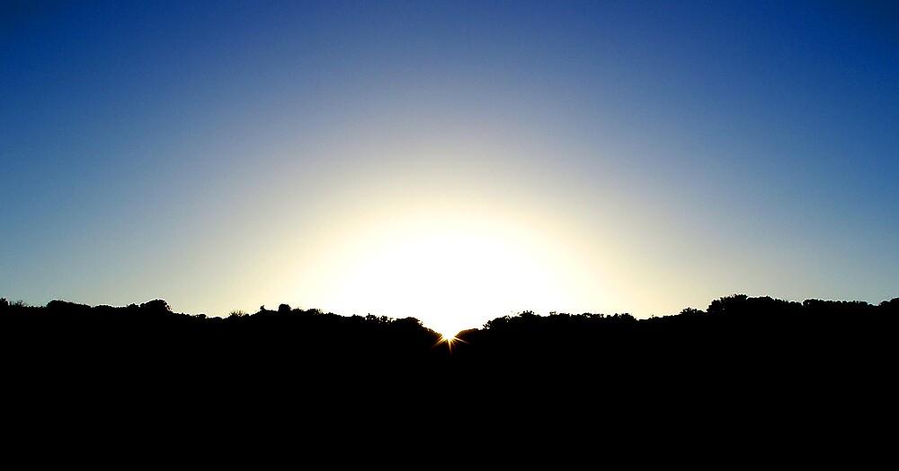 Halls Head Sunrise by Carolyn