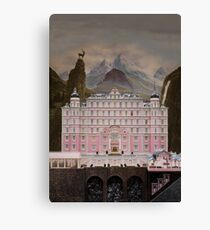 The Grand Budapest Hotel (accurate) Canvas Print